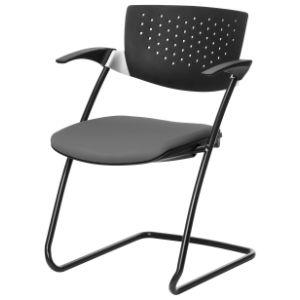 Multifunctionele stoel filigra slede stof/kunststof